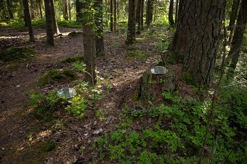 Renja Leino Barefoot Path 2021 Greenery On Loan